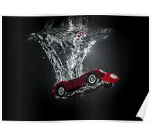 Ferrari Testa Rossa 1958 Poster