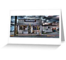 History Preserved: Shoe Repair, Sidney, BC Greeting Card