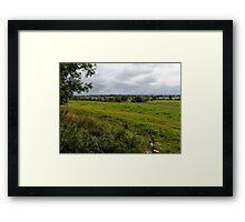 CHESHIRE Plains England Framed Print