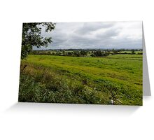 CHESHIRE Plains England Greeting Card