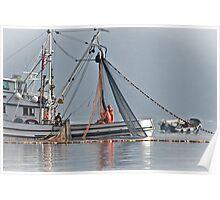 New Oregon Fishing VIIII Hauling the Net Poster