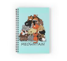 Meowntain Spiral Notebook