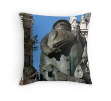 Grandma, Giles Circus, Ipswich Throw Pillow