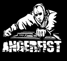 Angerfist With Console by KevinStefanoni