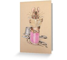 Mouse #1 Greeting Card