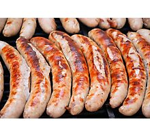 Thuringian Fried Sausages (Erfurt/Germany) Photographic Print
