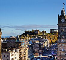 All the way to Calton Hill by Tom Gomez