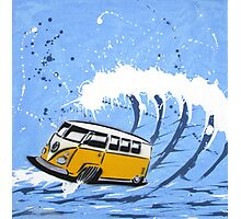 Splitty Wave 02 Painting Photographic Print