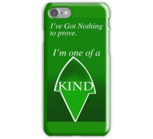 I've Got nothing to prove, Artemis Young Justice iPhone Case/Skin