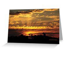 The dazzling sky II Greeting Card