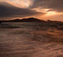 Dunstaffnage from Tralee Bay by JOHN MACBRAYNE
