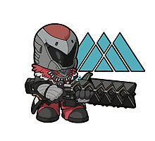 Destiny Stormcaller Warlock with Sleeper Simulant by Moncus