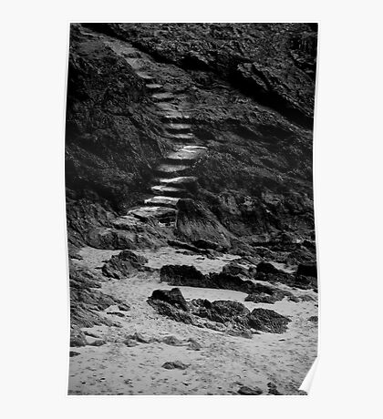 The Stair: St Malo Poster