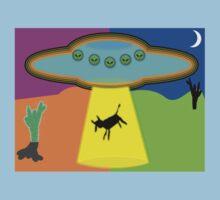 Alien Abduction Baby Tee