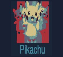 Pikachu Obama Style Effect by jbChimchar