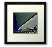 Architecture, San Francisco State University Framed Print