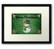 Frosty ©  Framed Print