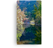 Riverscape in Eastern Washington State, USA Canvas Print