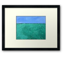 Meadow View Framed Print