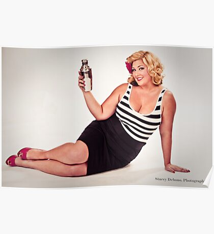 Vintage Pin Up II Poster