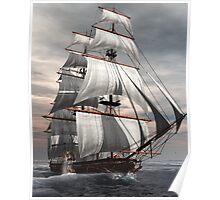 SS Savannah Poster