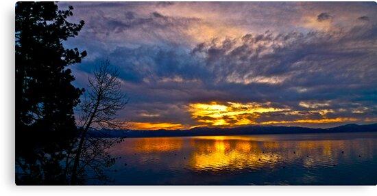 Lake Tahoe Sunrise by Scott Johnson