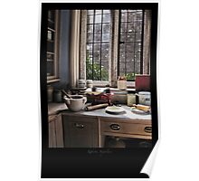 A corner of the kitchen Poster