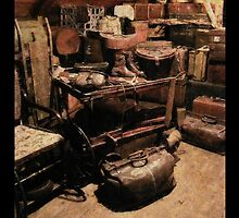 Old things in the attic by Roberta Angiolani