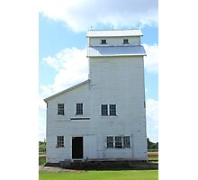 Country Elevator on the Prairies Photographic Print