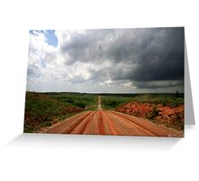 Road to Excitement Greeting Card