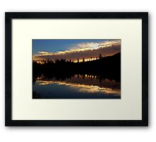 October Night Framed Print