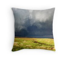 Waking the Monster Throw Pillow