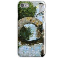 River Town iPhone Case/Skin