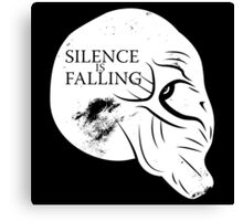 Silence is Falling Canvas Print