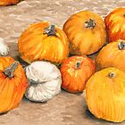 Pumpkins III by Amy-Elyse Neer