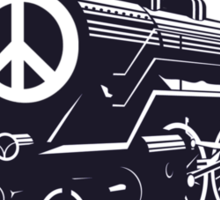 Cat Stevens - Peace Train is coming Sticker