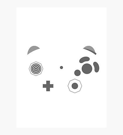 Gamecube Controller Buttons - Dark Photographic Print