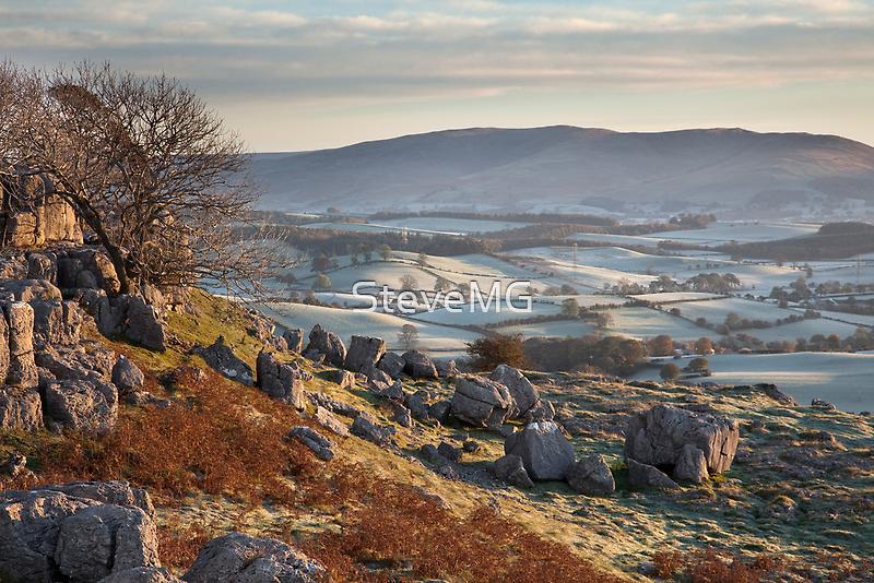Barbon Low Fell From Newbiggin Crags by SteveMG