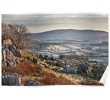 Barbon Low Fell From Newbiggin Crags Poster