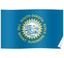 State Flags of the United States of America -  South Dakota Poster
