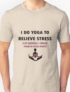Funny yoga geek funny nerd T-Shirt