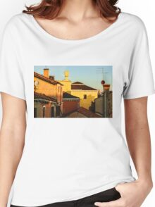 Impressions of Venice - Choose a Hotel With a Roof Terrace  Women's Relaxed Fit T-Shirt