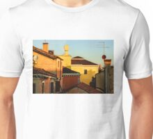 Impressions of Venice - Choose a Hotel With a Roof Terrace  Unisex T-Shirt