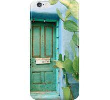 Green in the Desert iPhone Case/Skin