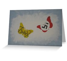 I Never Saw Another Butterfly. Greeting Card