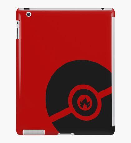 Pokemon Pokeball Fire  iPad Case/Skin