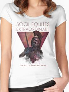 socii equites extraordinarii Women's Fitted Scoop T-Shirt