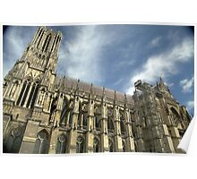 Reims Cathedral from the South Poster