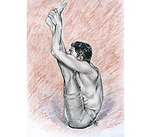 R. Sharath-Urdhva Mukha Paschimattanasana Photographic Print