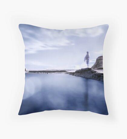 Cool Water Throw Pillow